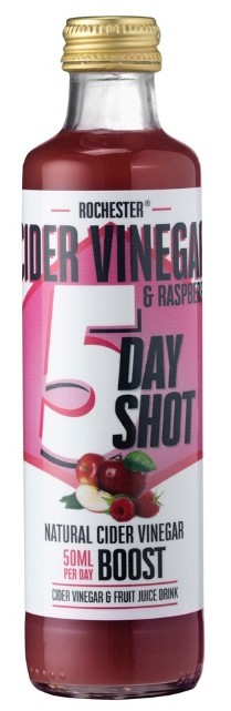 Cider Vinegar and Raspberry