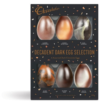 Easter easter gift box 6 pack decadent dark egg selection clt449cg negle Choice Image